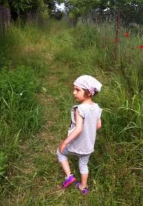 Lia in iarba