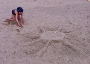 iri pe plaja