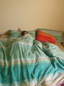 unde a dormit lia