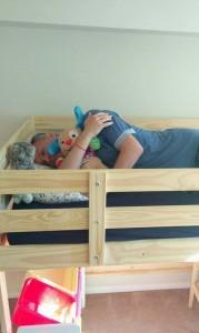 unde a dormit tati
