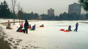 Iarna la grădi și la școală în Canada