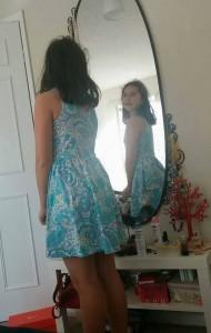 la oglinda