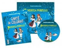 Carte de colorat - Povestea porcului