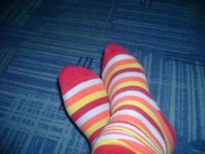 ciorapi cu dungi