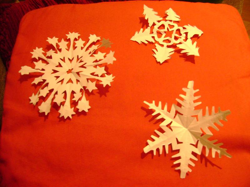 15 Decembrie 2010: Fulgi de zăpadă