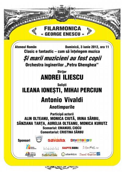 Nou concert Clasic e fantastic