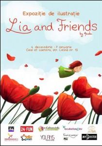 Lia and friends, o poveste în imagini, semnată Anda Cofaru