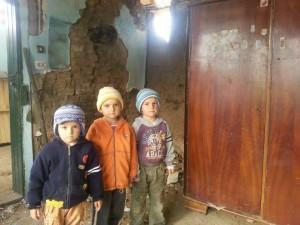 trei copii visau o soba